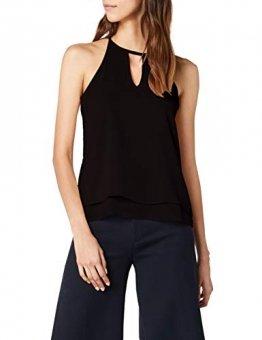 ONLY NOS Damen onlMARIANA MYRINA S/L NOOS WVN Top, Schwarz Black, (Herstellergröße: 34) - 1