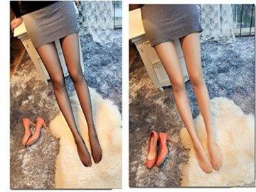 Outstanding® Lady Girl's Nylon Strumpfhose Shiny Silk Strumpfhose 8D Thin Light Glitter Strümpfe für Sommer, Frühling, Herbst - 3