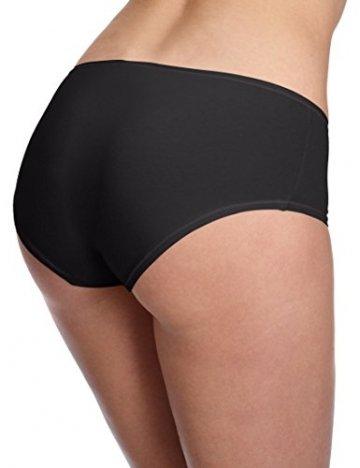 Skiny Damen Advantage Cotton Panty, 2er Pack, Schwarz (7665 BLACK), Gr. 40/L - 2