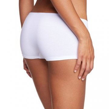 Skiny Damen Panties Essentials Women Low Cut Pant, Gr. 36, Weiß (0500 WHITE) - 2