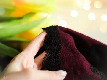 V FOR CITY Slips Damen Baumwoll Soft Panties mit Spitzendetails Unterhose mit Schleife 4er Pack, Grau5, M - 4