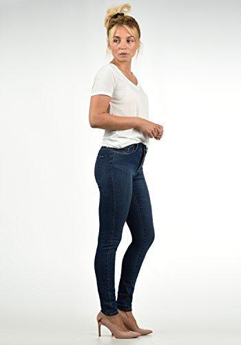 VERO MODA Diamant Damen Jeans Denim Hose Strech Mid-Rise, Größe:M/ L30, Farbe:Dark Blue - 3