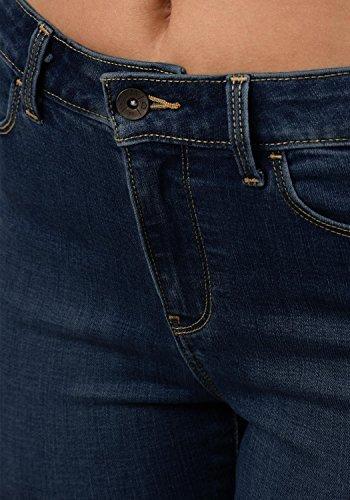 VERO MODA Diamant Damen Jeans Denim Hose Strech Mid-Rise, Größe:M/ L30, Farbe:Dark Blue - 5