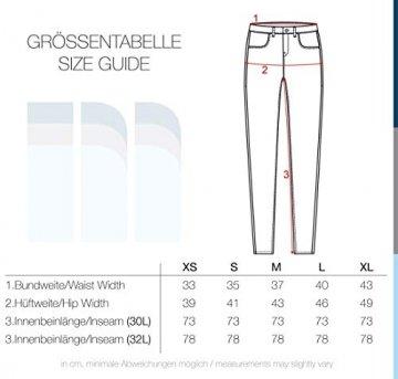 VERO MODA Diamant Damen Jeans Denim Hose Strech Mid-Rise, Größe:M/ L30, Farbe:Dark Blue - 7