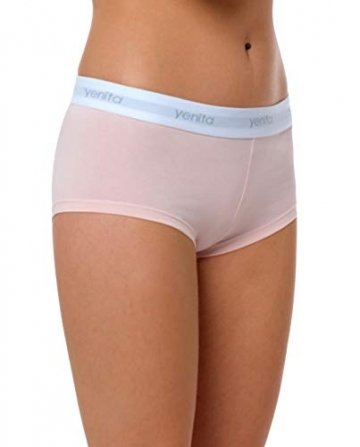 Yenita 3er Set Damen Underwear Modern-Sports-Collection, Panty, Gemischt (Pink/Mint/Grau), Gr. S - 3