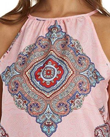 YOINS Top Damen Sommer Sexy Ärmellos Shirt Crop Tops Damen Mode Rundhals Bluse Mode Camisole Tank - 5