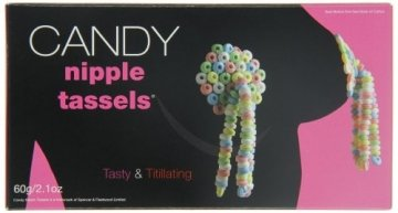 You2Toys Candy Nipple Tassels, 1er Pack (1 x 60 g) - 2