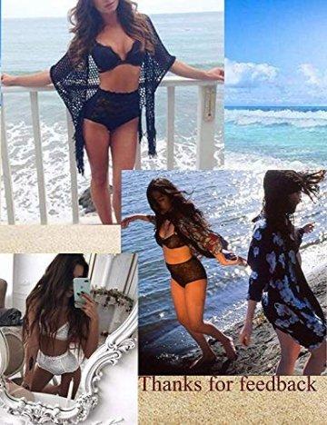 ADOME Sexy Dessous Set BH Dessous Sexy Erotische Lingerie Höhe Taille Reizwäsche Nachtwäsche Unterwäscshe Lace Spitze Erotik Unterwäsche und Slip Reizwäsche Set - 5