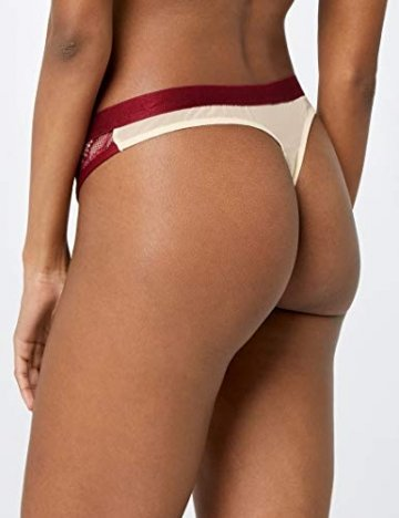 Amazon-Marke: Iris & Lilly Damen Tanga Selena, Pink (Pink/Nude Pink/Nude), XL, Label: XL - 5