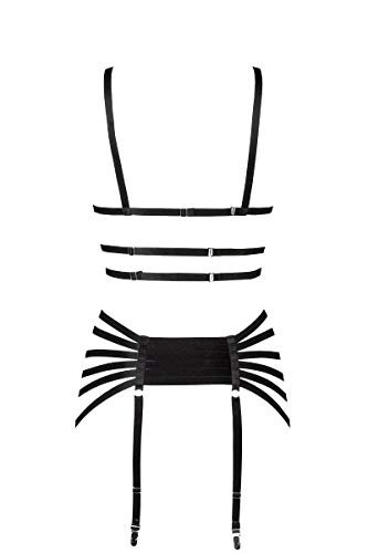 4-teiliges Straps-Bandage-Set von Grey Velvet XL-2XL - 2