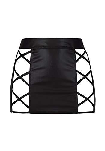 Axami Damen Minirock aus Latex L - 1