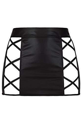 Axami Damen Minirock aus Latex L - 7