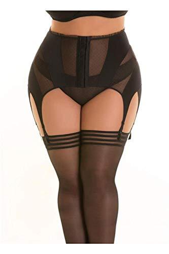 Axami Plus-Size Damen Taillenhoher Strumpfgürtel 4XL - 3