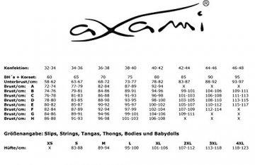 Axami Plus-Size Damen Taillenhoher Strumpfgürtel 4XL - 7
