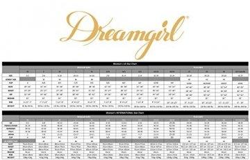 Dreamgirl Women's Plus Size Cheeky Panty with Criss-Cross Back, Iris/Black, 1X - 3