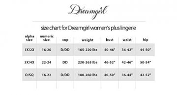 Dreamgirl Women's Plus-Size Moulin Thigh High Stockings, White, One Size Queen - 2
