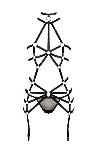 Grey Velvet Damen Harness-Set XS/S - 1