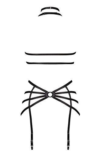 Grey Velvet Damen Harness-Set XS/S - 3