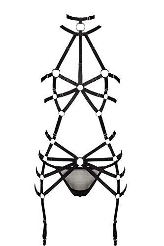 Grey Velvet Damen Harness-Set XS/S - 5