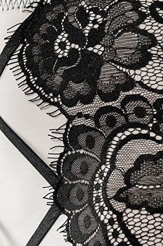 Grey Velvet Damen Lingerie-Straps-Set 3-teilig S - 4
