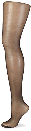 Nur Die Seidenfein Strumpfhose, Collants Femme, 15 DEN, Noir-Schwarz (Schwarz 94), 48 (Taille Fabricant: 44-48=L) - 1