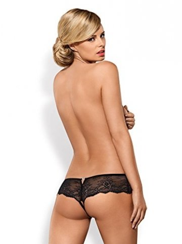 Obsessive Merossa Crotchless Panties, 60 g - 7