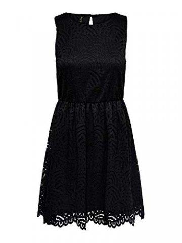 ONLY Damen Kleid ohne Ärmel Spitzen SBlack - 1