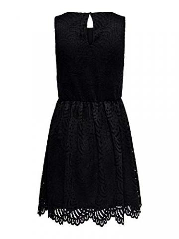 ONLY Damen Kleid ohne Ärmel Spitzen SBlack - 3