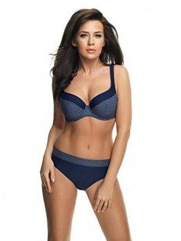 Selente My Secret 1874 attraktive Bademode (Bikini/Badeanzug) in großen Größen (C-Cup bis H-Cup) mit vorteilhaftem Schnitt, Bikini Blau/Weiß gepunktet, Gr. 85G - 1
