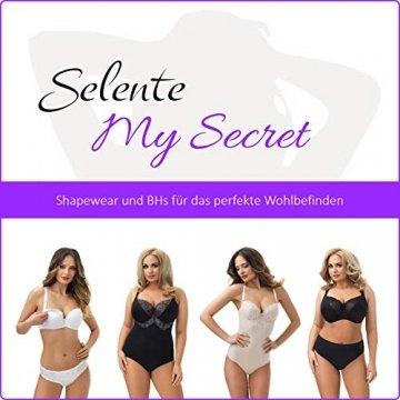 Selente My Secret sbh01 Still-BH (Made in EU) gepolstert mit praktischer Öffnung zum Stillen, BH Schwarz, Gr. 85B - 3