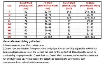 SZIVYSHI Ivy Shi Damen Unterbrust Satin Lace Up Waist Cincher Corset Shaper Corsage (M, Schwarz) - 2