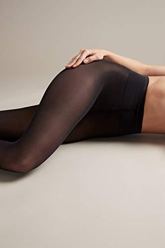 Vogue Conscious Opaque Öko Nylonstrumpfhose 40 Den schwarz für Damen, 1 Paar - 5
