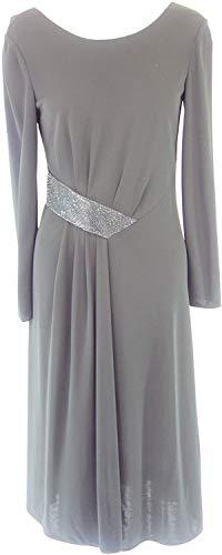 Armani Collezioni Damen Kleid 6XMA61 Herstellergr 42 DE 36 Schwarz Straß - 1
