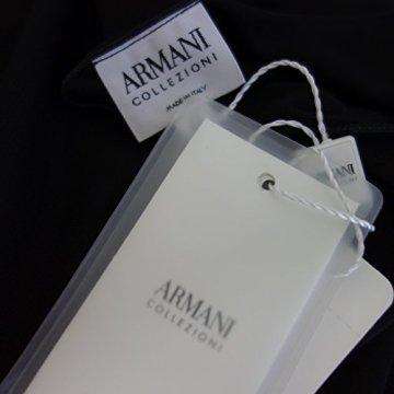 Armani Collezioni Damen Kleid 6XMA61 Herstellergr 42 DE 36 Schwarz Straß - 2