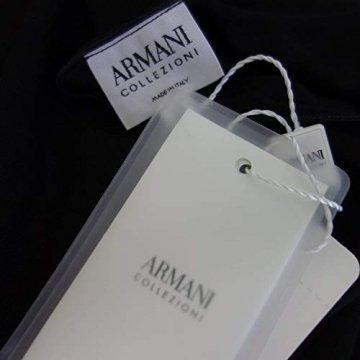Armani Collezioni Damen Kleid 6XMA61 Herstellergr 42 DE 36 Schwarz Straß - 4