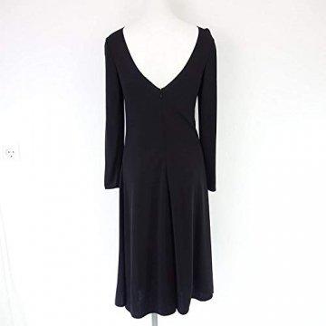 Armani Collezioni Damen Kleid 6XMA61 Herstellergr 42 DE 36 Schwarz Straß - 5