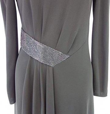 Armani Collezioni Damen Kleid 6XMA61 Herstellergr 42 DE 36 Schwarz Straß - 6