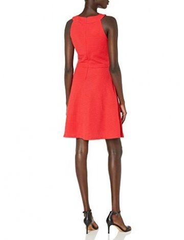 Armani Exchange AX Damen Cross Collar A-Line Party Dress Legeres Abendkleid, Lollipop, X-Groß - 2