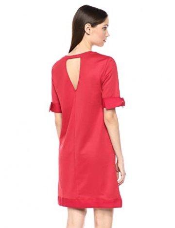 Armani Exchange AX Damen Cut-Out Shift Dress Legeres Abendkleid, Rote Schuhe, Mittel - 3