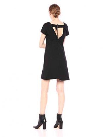 Armani Exchange AX Damen Short Sleeve Dress Kleid, schwarz, Klein - 2