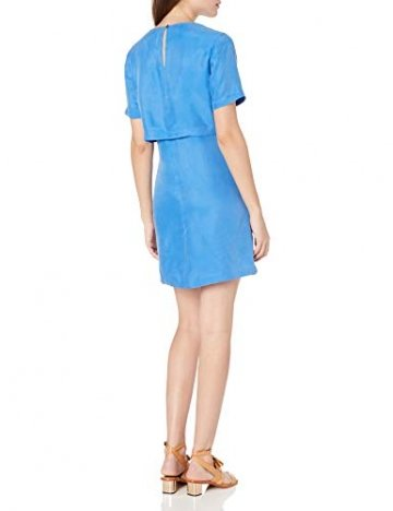 Armani Exchange A|X Damenkleid, kurzärmelig, doppellagig - Blau - 34 - 2