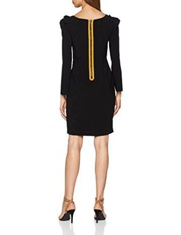 Armani Exchange Damen 6ZYA06 Kleid, Schwarz (Black 1200), Large (Herstellergröße: 8) - 2