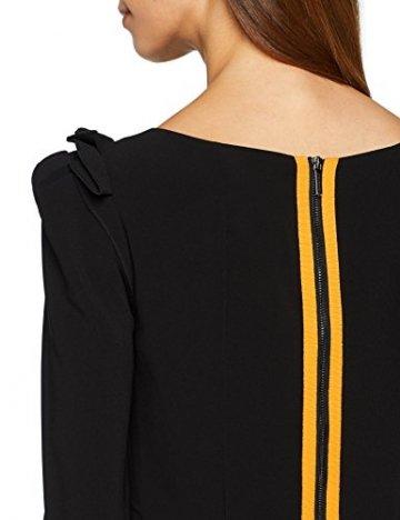 Armani Exchange Damen 6ZYA06 Kleid, Schwarz (Black 1200), Large (Herstellergröße: 8) - 3