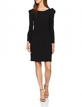 Armani Exchange Damen 6ZYA06 Kleid, Schwarz (Black 1200), Large (Herstellergröße: 8) - 1