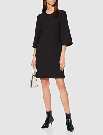 Armani Exchange Damen Back Bottom Belt Dress Partykleid, Schwarz (Black 1200), X-Small (Herstellergröße: 2) - 2