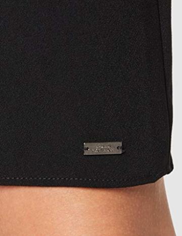 Armani Exchange Damen Back Bottom Belt Dress Partykleid, Schwarz (Black 1200), X-Small (Herstellergröße: 2) - 3