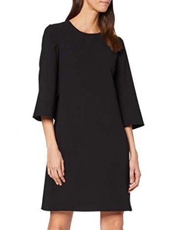 Armani Exchange Damen Back Bottom Belt Dress Partykleid, Schwarz (Black 1200), X-Small (Herstellergröße: 2) - 1