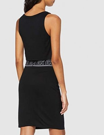 Armani Exchange Damen Logo Belt Tank Dress Kleid, Schwarz (Black 1200), Large (Herstellergröße:L) - 2