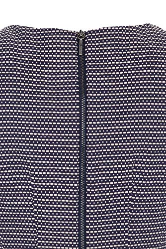Armani Jeans Damen 3Y5A045NYUZ Casual Kleider, Blau (Fantasia Blu 2514), 40 - 3