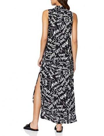 Calvin Klein Jeans Damen New DECLA 2 SL Shirt Dress Kleid, Schwarz (Scribble Logo/CK Black 901), 34 (Herstellergröße: XS) - 6